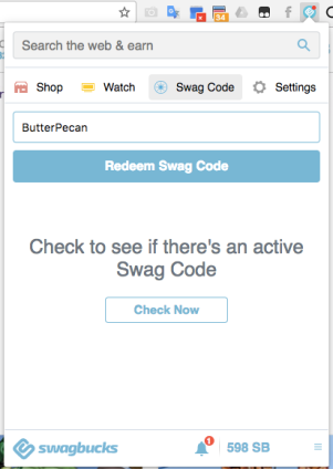 Swag Codes: Daily, Extravaganza and iSpy – Swagbucks: What's this
