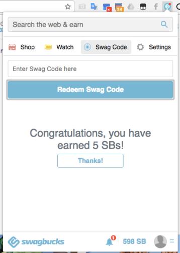 swagcode redeem 2